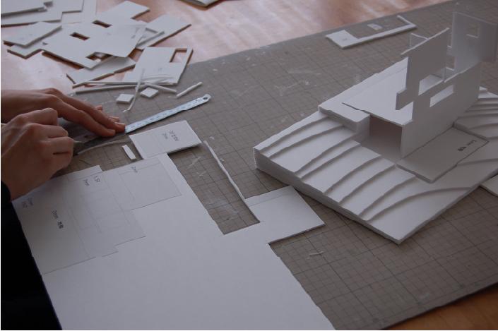 設計の作業風景
