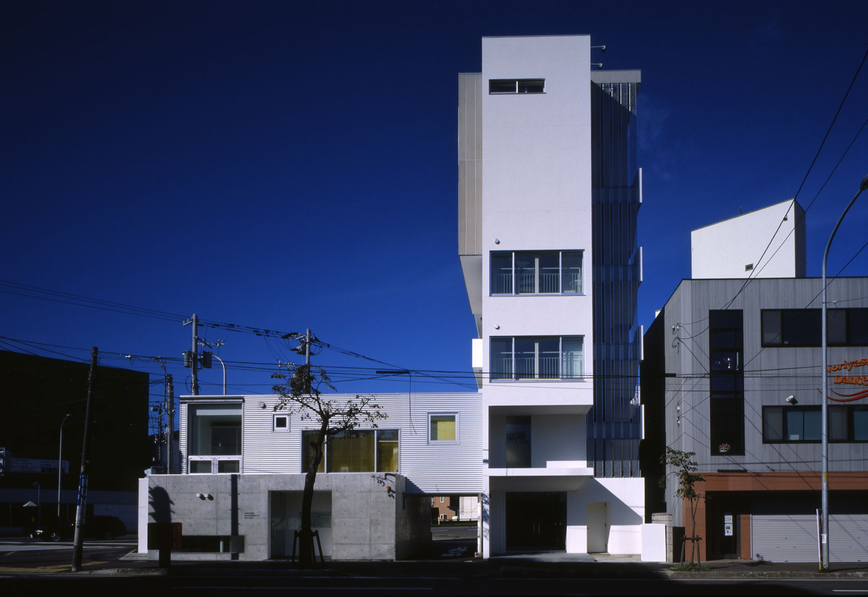 フレキシビリティがテーマの集合住宅