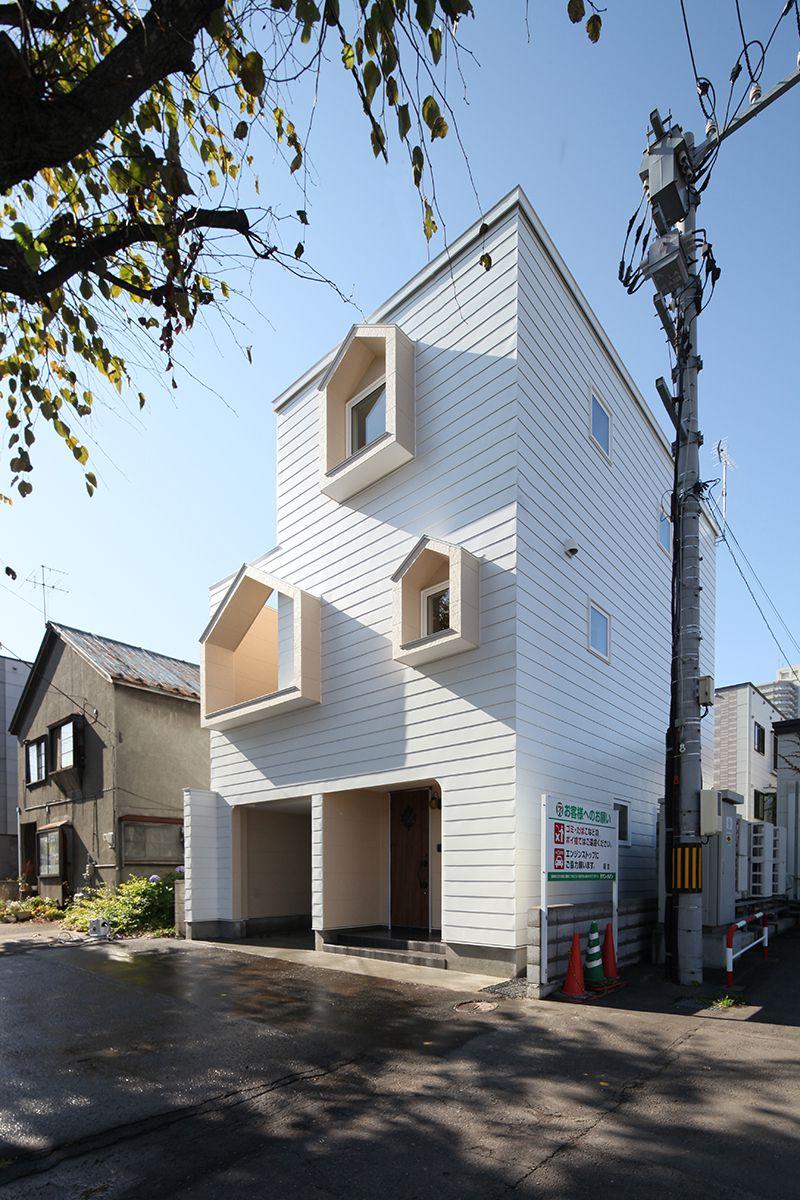 敷地面積25坪の狭小住宅