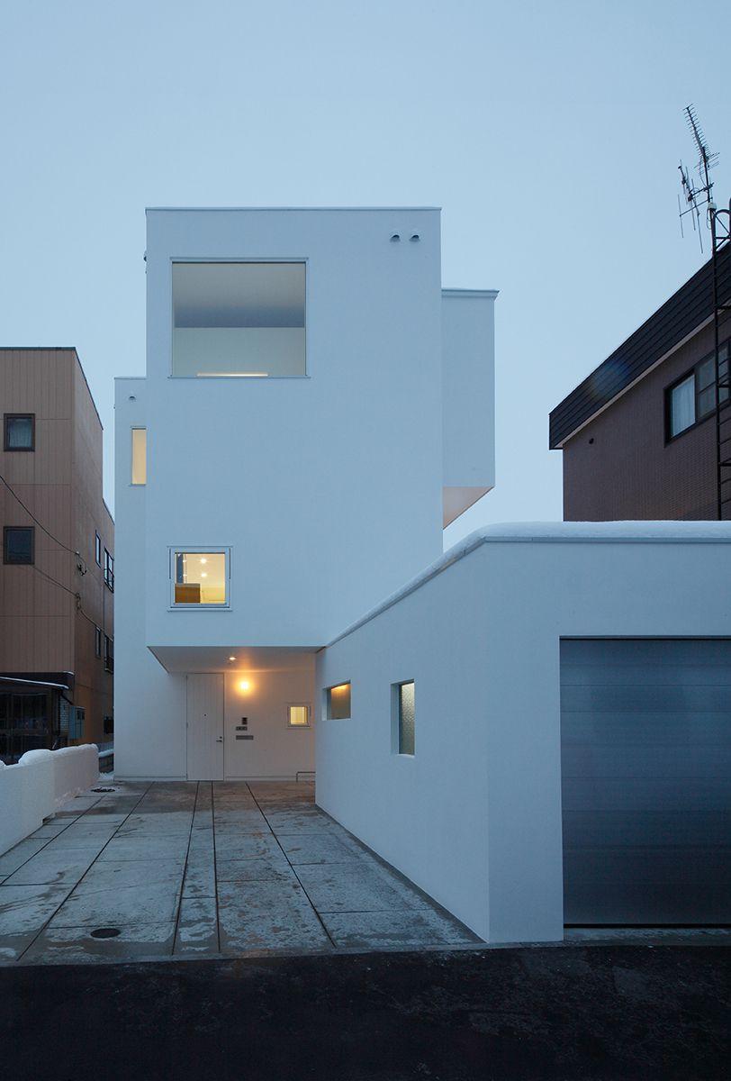コートハウス型二世帯住宅