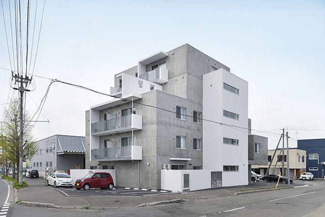 メゾネットタイプの集合住宅